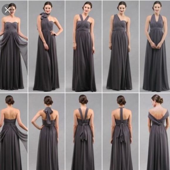 Jenny Yoo Aiden Convertible Dress